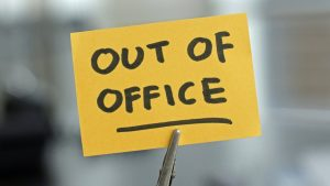 out of office bericht